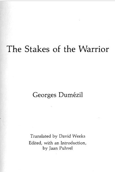 The stakes of the warrior