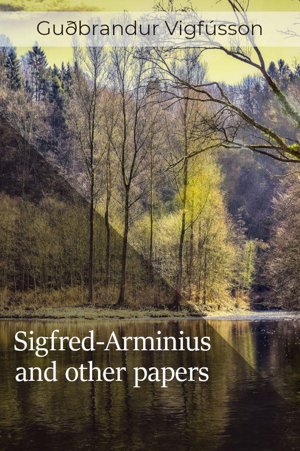 sigfred arminius and other papers