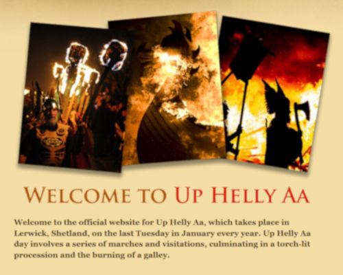 Up Helly Aa 2021